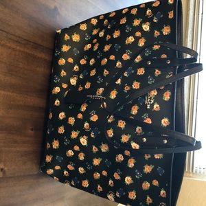 Coach flowered purse